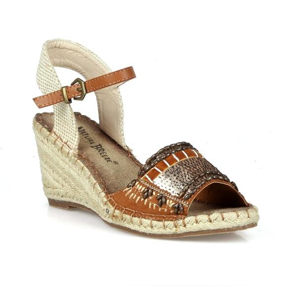 6b6b897858d Nomad-02 Peep Toe Women's Espadrille Wedges Boutique